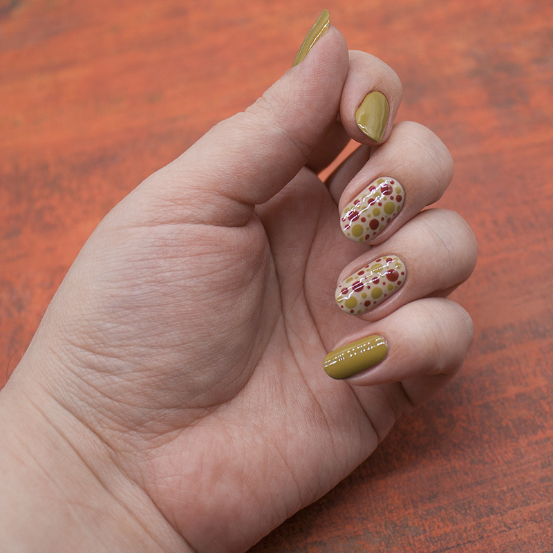 ncla - dirty martini, opi - did you 'ear about van gogh?, opi - first date at the golden gate