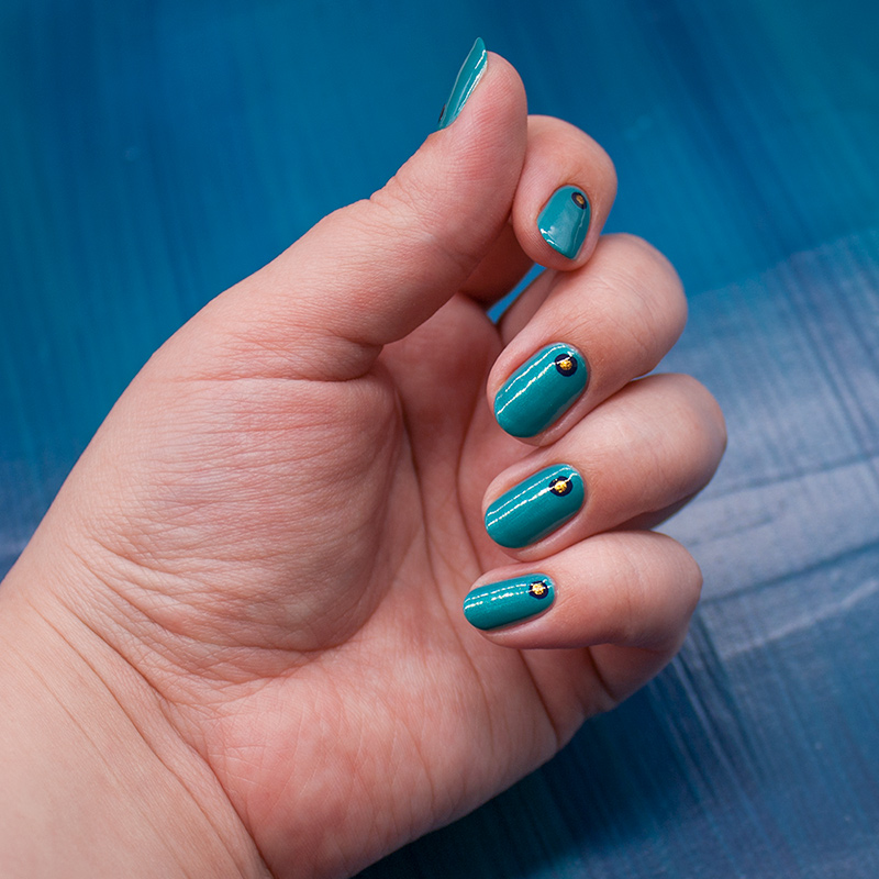 orly - bailamos, orly - glitz and glamour, anny - denim on the rocks