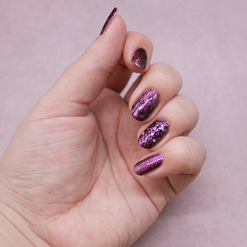 bow - playing with fire, moyou london - festive 44, dance legend - stamping nail polish 02, глиттер с али
